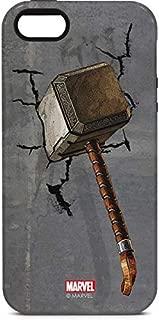 Skinit Pro Phone Case for iPhone 5/5s/SE - Officially Licensed Marvel/Disney Mjolnir Hammer of Thor Design