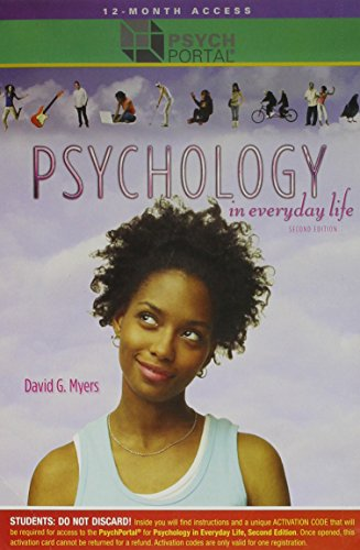 Psychology in Everyday Life Second Edition
