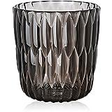 Kartell 1227V9 Vase Jelly, 25 x 23,5 cm, rauchgrau