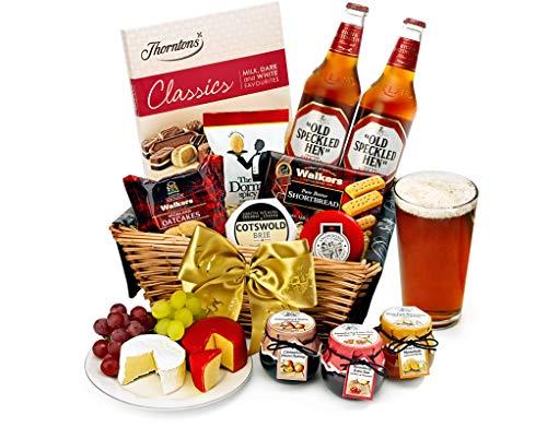 Trafalgar Hamper With Real Ale - Hand Wrapped Gourmet Food Basket, in Gift Hamper Box