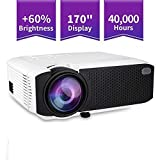 E400A Android Smart Projector 8GB 1GB Ram HD 3D WiFi Bluetooth miracast 2500