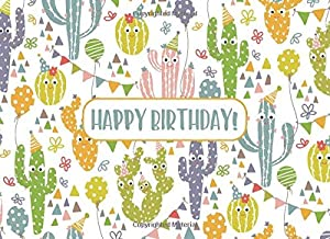 Happy Birthday!: Cactus Party Guest Book