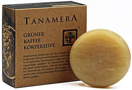 TANAMERA grüner Kaffee Körperseife 100g