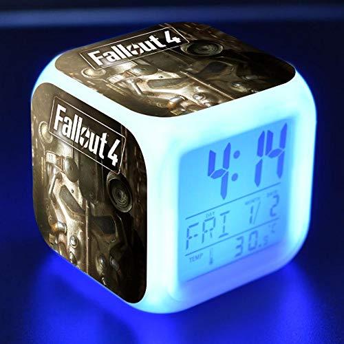TYWFIOAV MoveCharacter Reloj Digital Reloj Reloj para niños