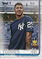 2019 Topps Series 1 - Gleyber Torres - Cup Rookie - IMAGE/PHOTO VARIATION - SP SHORT PRINT - New York Yankees Baseball Card #7