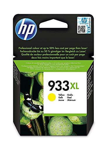 classement un comparer Cartouche d'encre jaune d'origine HP 933XL CN056AE à haut rendement pour imprimantes HP OfficeJet