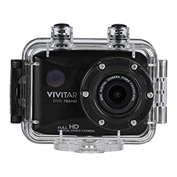 Vivitar Full HD Action Camera DVR786HD-BLK
