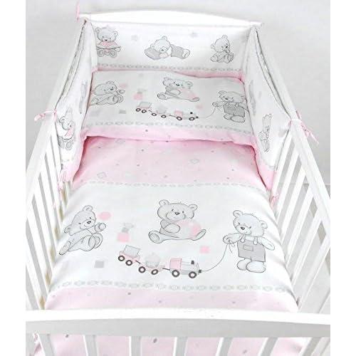Zöllner Baby Kinder Bettwäsche Set Schmusebär