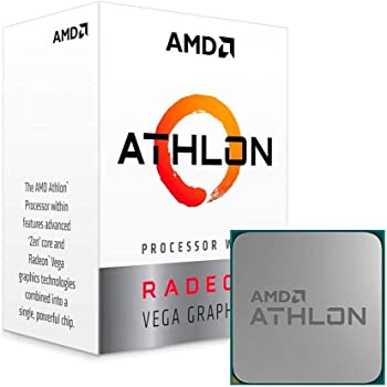 AMD Athlon 240GE with Radeon Vega Graphics Processor