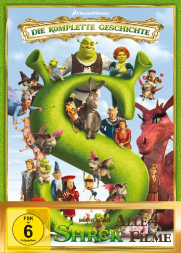Shrek 1-4: Die komplette Shrekologie [5 DVDs]