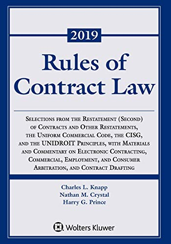 Compare Textbook Prices for Rules of Contract Law Supplements Supplement Edition ISBN 9781454894520 by Knapp Knapp, Charles L,Crystal, Nathan M,Prince, Harry G