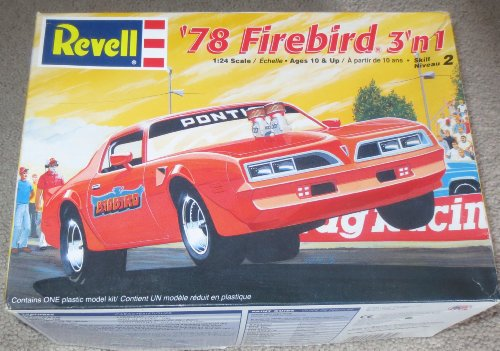'78 Firebird 3 'n 1 Model Kit ... 1978 Firebird 1:24 Scale ... Ages 10 and Up ... Skill Level 2
