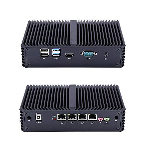 Mini Itx Linux Q330G4 Intel Core I3-4005U,1.7Ghz (8Gb Ddr3 Ram 16Gb Ssd) AES-NI,4Gigabit LAN,Used As A Router/Firewall/Proxy/WiFi Access Point