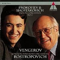 PROKOFIEV & SHOSTAKOVICH: VIOLIN CONCERTO,1(reissue) by Maxim Vengerov (2011-08-17)