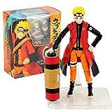 VNNY 14cm Anime Naruto Shippudden Naruto Uzumaki Figura de acción Juguetes PVC Modo Sabio muñecas Modelo Coleccionable Figura Uzumaki móvil-14cm