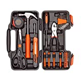 DeCare 39-Piece Tool Kit Tool Set - Household Hand Tool Kit Repair Tools Set with Portable Toolbox...