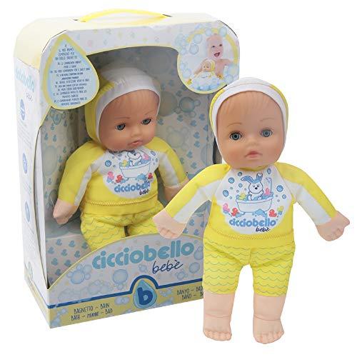 Giochi Preziosi Cicciobello Bebè Bellissimo, Primo Bagnetto, la Bambola per Dolci Bagnetti