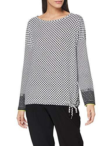 Cecil Damen 315670 T-Shirt, Light Alabaster White, M