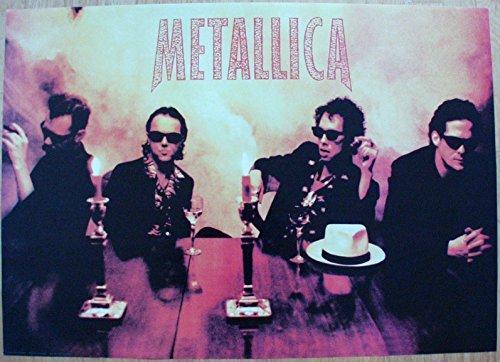 Metallica Poster Nr. 2 Format 60 x 85 cm Original von 1991