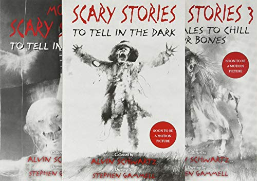 Scary Stories Paperback Box Set: The Complete 3-Book Collection with Classic Art by Stephen Gammell