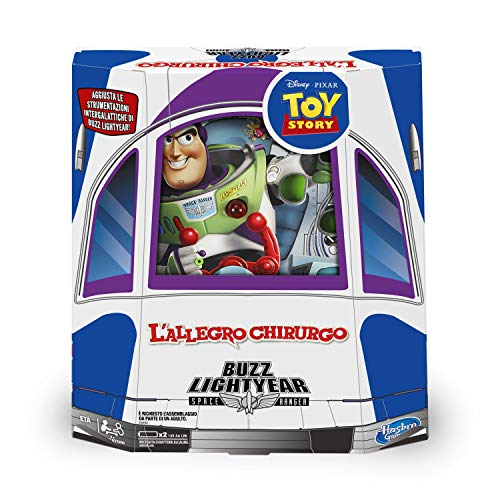 Hasbro Gaming - L'Allegro Chirurgo: Buzz Lightyear (gioco in scatola)
