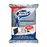Oven Mate Microwave Steam Clean Wipes 25 per pack