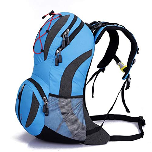 IAOHUO 25L Travel Backpack Outdoor Mountaineering Hiking Daypack with Durable, Waterproof Lightweight,Foldable Backpack (Color : C)