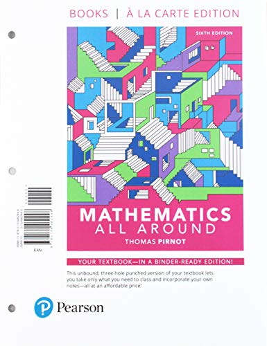 Mathematics All Around with Integrated Review, Loose-Leaf Version Plus MyLab Math -- Access Card Package (6th Edition)