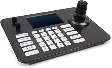 Hsility PTZ Controller Video Conference POE Onvif 4D Joystick Decoding Keyboard with 5 Inch LCD Screen