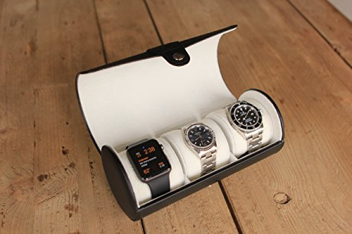 CASE ELEGANCE CE-LEATHER-WATCH-BLACK
