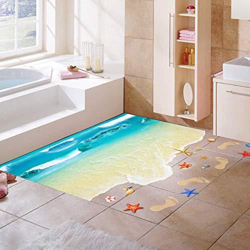 coquille de nautile plage étoile empreinte 3d stickers muraux étage décor cuisine toilette stickers Chambre à coucher décoration de la maison affiche