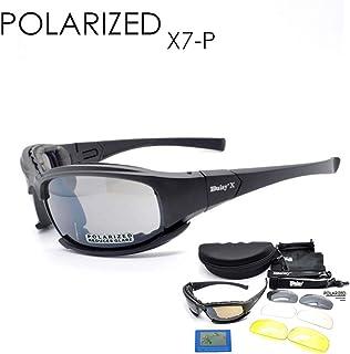 f8a53e6cd7 Táctica Gafas 4LS Mens Militar X7 polarizadas gafas de sol a prueba de balas  para practicar