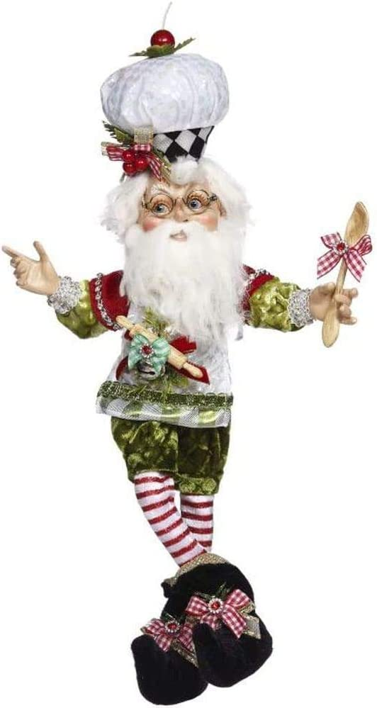 Mark Roberts 2020 Limited Edition Collection North Pole Cookie Elf Figurine, Small 13.5'' - Deluxe Christmas Decor and Collectible