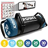 POWRX Sandbag 20 kg - Perfecta para mejorar equilibrio, fuerza y coordinación - Power bag...