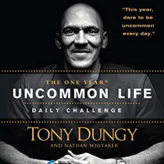 The One Year Uncommon Life Daily Challenge audiobook cover art