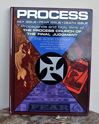 PROCESS Church of Final Judgement Sex/Fear/Death Signed Timothy Wyllie OOP! Rare