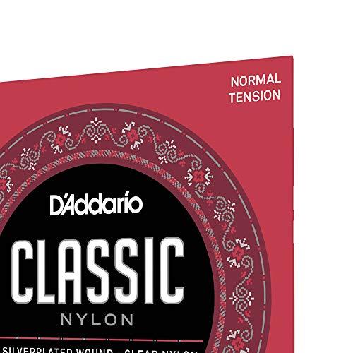 DAddario EJ27N - Juego de Cuerdas para Guitarra Clásica de Nylon ...