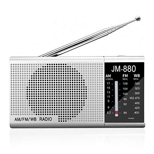 Radio Transistor A Pilas  marca Jimeng