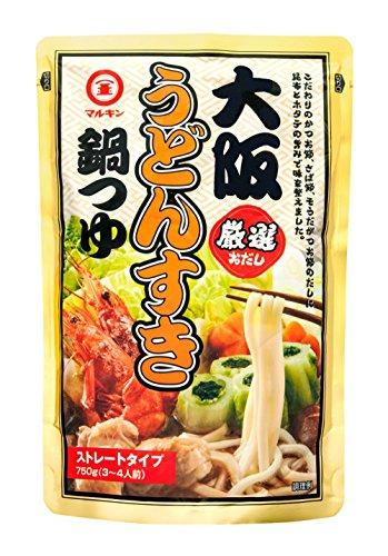 マルキン 大阪うどんすき鍋つゆ 750g
