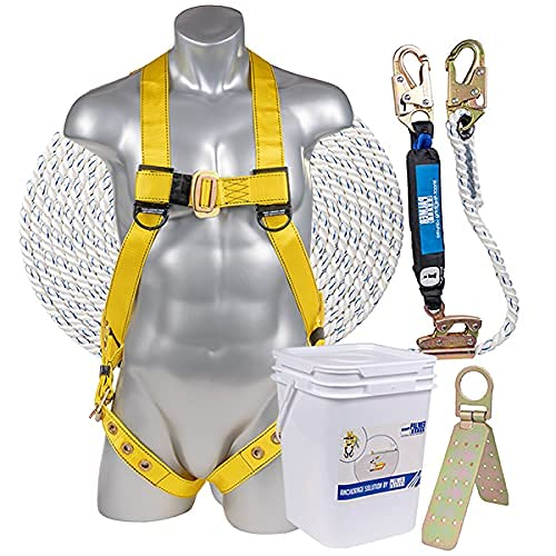 Palmer Safety Fall Protection Roofing Bucket Kit