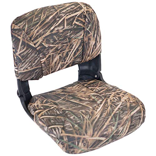 Tempress All Weather High Back Seat, Black Seat/Mossy Oak Shadow Grass Cushion Vinyl