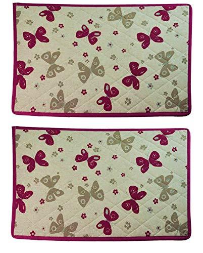 Farfalle 35 x 50 cm nr 2 pièce napperons.