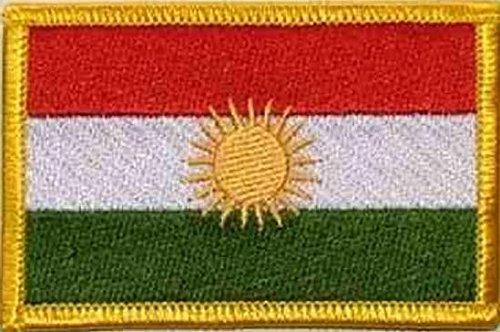 U24 Aufnäher Kurdistan Aufbügler Patch