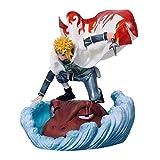ymdmds High 19cm Naruto GK Wave Fengshuimen Cuatro Generaciones de Ojos Escultura Regalo Modelo Ilus...