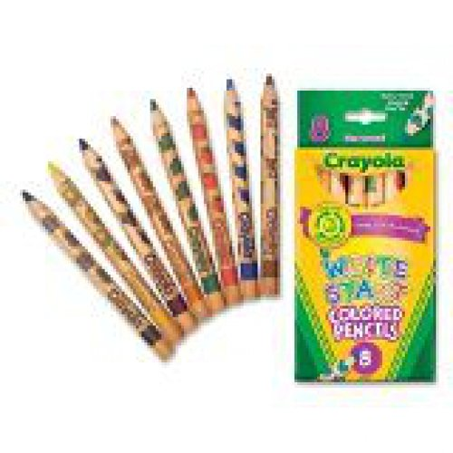 Crayola 8ct Write Start Colored Pencils, Case of 24 Packs