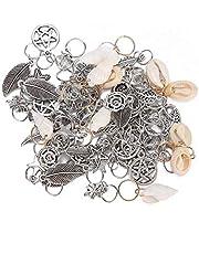 SunshineFace 70 stks Haar Vlecht Ringen Dreadlocks Kralen Ring Mode Haar Decoratie Accessoires