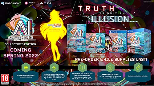 Ai The Somnium Files Nirvana Initiative Collector´S Edition - Collector's - PlayStation 4