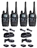 Midland G7Pro Basic maletín Two-Way Radio dispositivo móvil walkie-talkies 4unidades