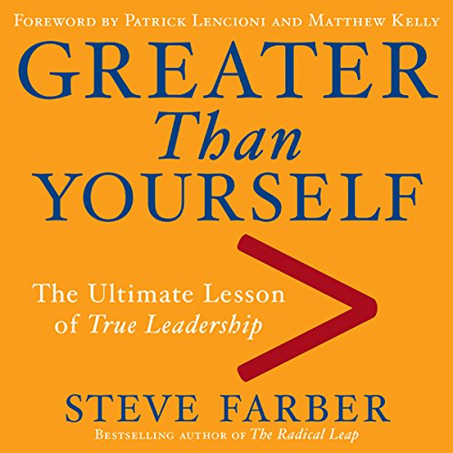 Greater Than Yourself audiobook cover art
