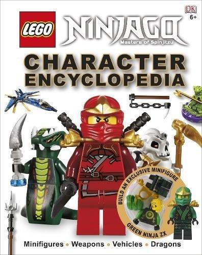 LEGO® Ninjago Character Encyclopedia: Includes Green Ninja FX minifigure
